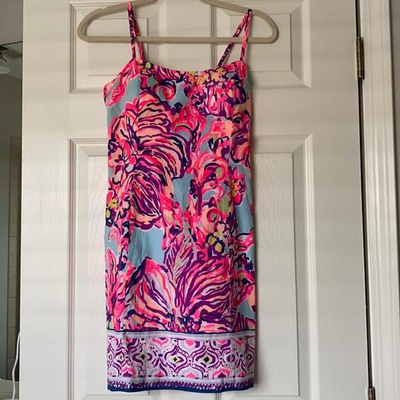 EUC Lilly Pulitzer Shelli Dress, Size 6